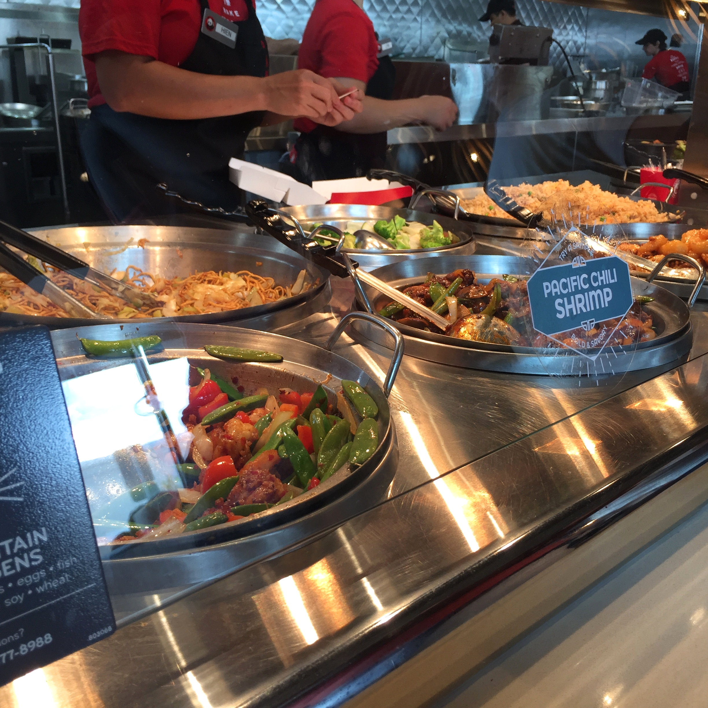 Panda Express is arguably a fast food restaurant because it follows the food preparation model of nearly all other defined fast food restaurants: the food is prepared and held at temperature until purchase. It may be confusing because Panda Expres.